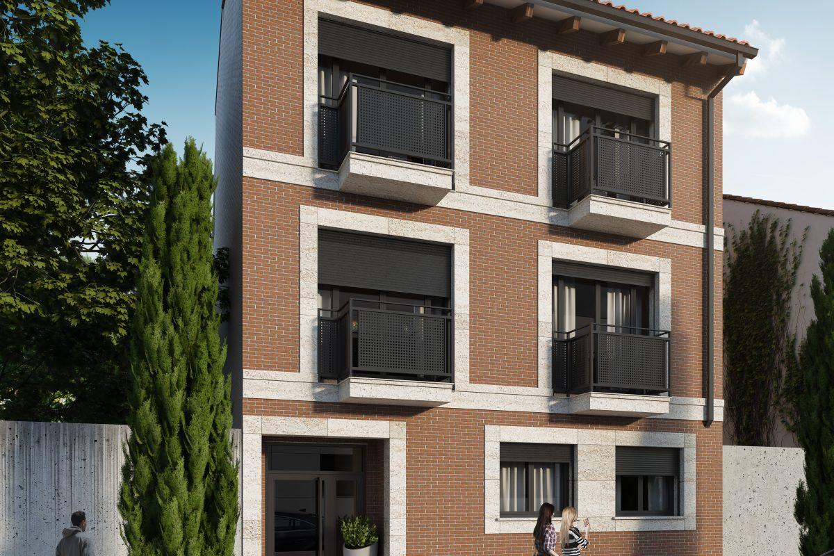 Edificio de 5 Viviendas y Trasteros